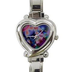 Multi-colour Heart Italian Charm Watch
