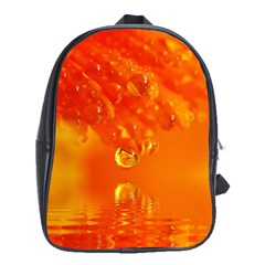 Waterdrops School Bag (Large)