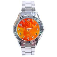 Waterdrops Stainless Steel Watch (Men s)
