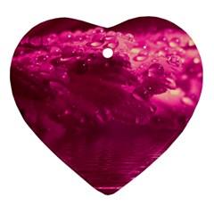 Waterdrops Heart Ornament
