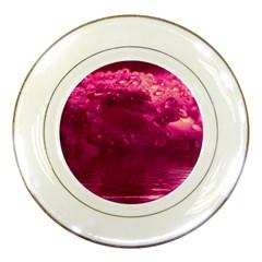 Waterdrops Porcelain Display Plate