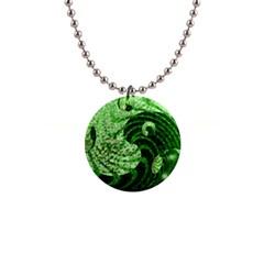 Magic Balls Button Necklace
