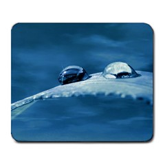 Drops Large Mouse Pad (rectangle)