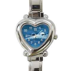 Drops Heart Italian Charm Watch