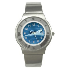 Drops Stainless Steel Watch (Unisex)