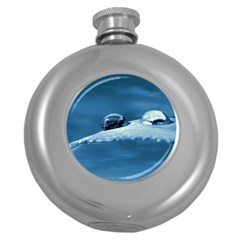 Drops Hip Flask (Round)