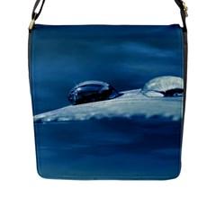 Drops Flap Closure Messenger Bag (Large)