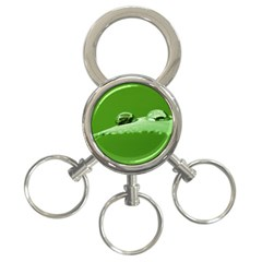 Waterdrops 3 Ring Key Chain