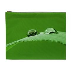 Waterdrops Cosmetic Bag (XL)