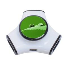 Waterdrops 3 Port USB Hub