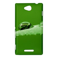 Waterdrops Sony Xperia C (S39h) Hardshell Case