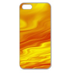 Design Apple Seamless iPhone 5 Case (Clear)
