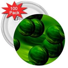 Magic Balls 3  Button (100 pack)