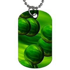 Magic Balls Dog Tag (one Sided)