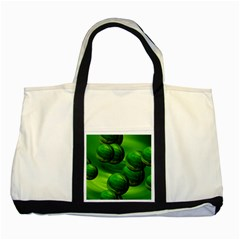 Magic Balls Two Toned Tote Bag