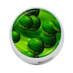 Magic Balls 4 Port Usb Hub (two Sides)