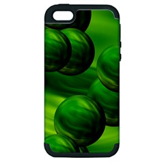 Magic Balls Apple iPhone 5 Hardshell Case (PC+Silicone)
