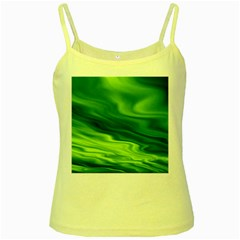 Green Yellow Spaghetti Tank