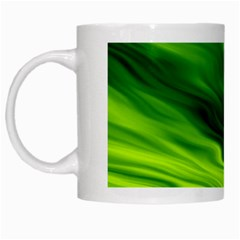 Green White Coffee Mug