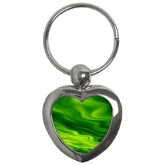 Green Key Chain (heart)
