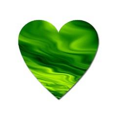 Green Magnet (Heart)