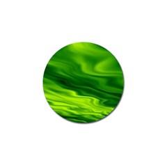 Green Golf Ball Marker 10 Pack