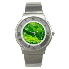 Green Stainless Steel Watch (unisex)