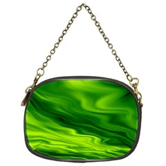 Green Chain Purse (One Side)