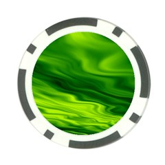 Green Poker Chip (10 Pack)