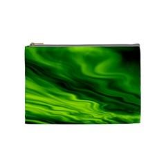 Green Cosmetic Bag (Medium)