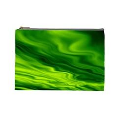 Green Cosmetic Bag (Large)