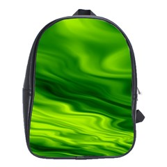 Green School Bag (Large)