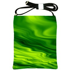 Green Shoulder Sling Bag