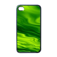 Green Apple iPhone 4 Case (Black)