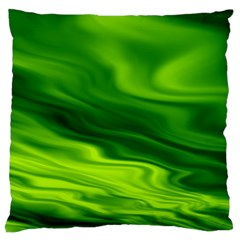 Green Large Cushion Case (Two Sided)