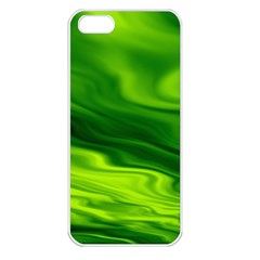 Green Apple Iphone 5 Seamless Case (white)
