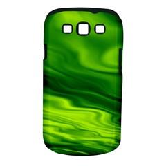 Green Samsung Galaxy S III Classic Hardshell Case (PC+Silicone)
