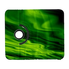 Green Samsung Galaxy S  III Flip 360 Case