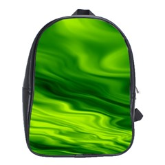 Green School Bag (XL)