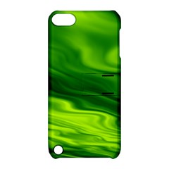 Green Apple iPod Touch 5 Hardshell Case with Stand