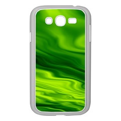 Green Samsung Galaxy Grand DUOS I9082 Case (White)