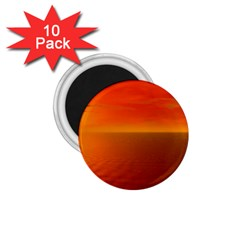 Sunset 1 75  Button Magnet (10 Pack)