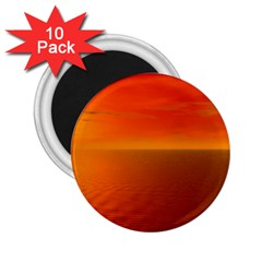 Sunset 2 25  Button Magnet (10 Pack)