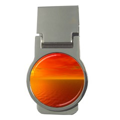Sunset Money Clip (Round)