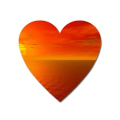 Sunset Magnet (Heart)