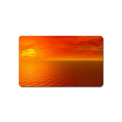 Sunset Magnet (name Card)