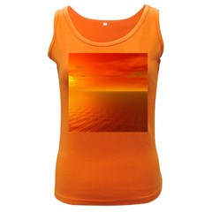Sunset Womens  Tank Top (Dark Colored)