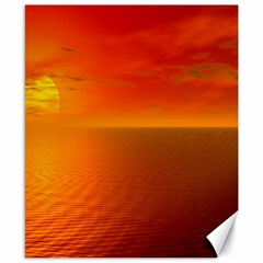Sunset Canvas 8  x 10  (Unframed)