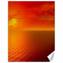 Sunset Canvas 12  x 16  (Unframed)