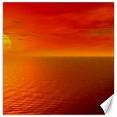 Sunset Canvas 20  x 20  (Unframed)